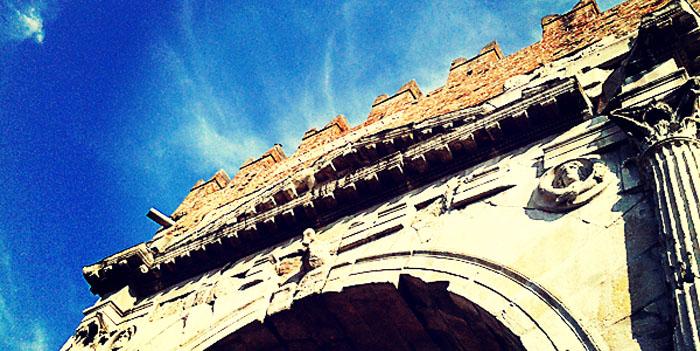 Rimini's Arco d'Augusto