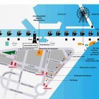 Molo Street Parade Map