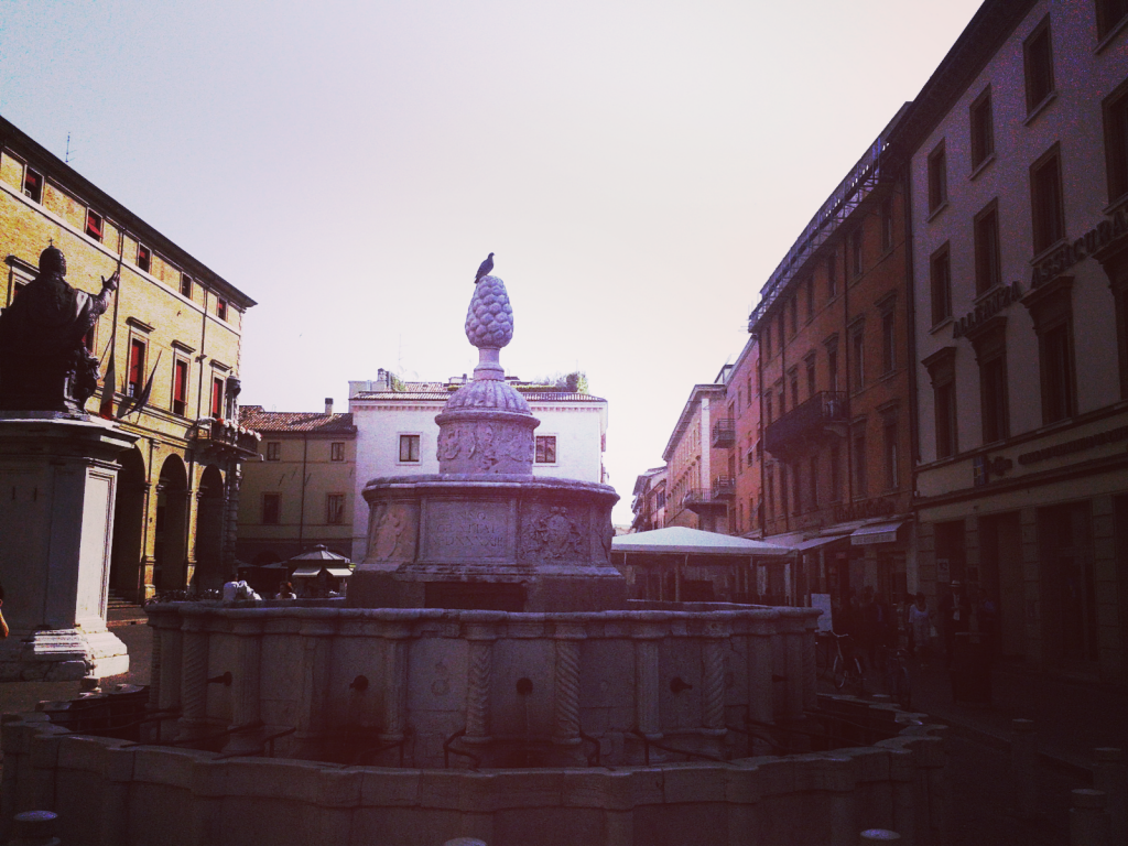 The Pigna Fountain - Piazza Cavour