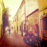 Via Forzieri in Borgo San Giuliano Rimini