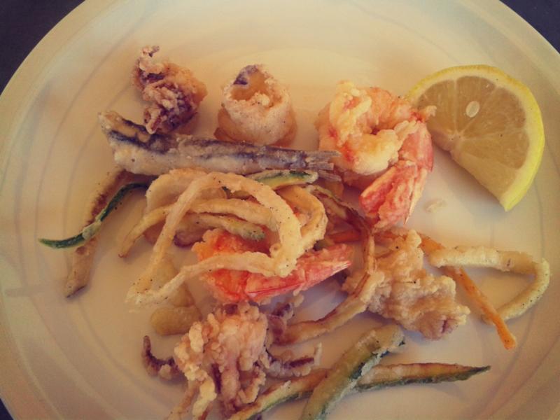 fritto misto di pesce adriatico