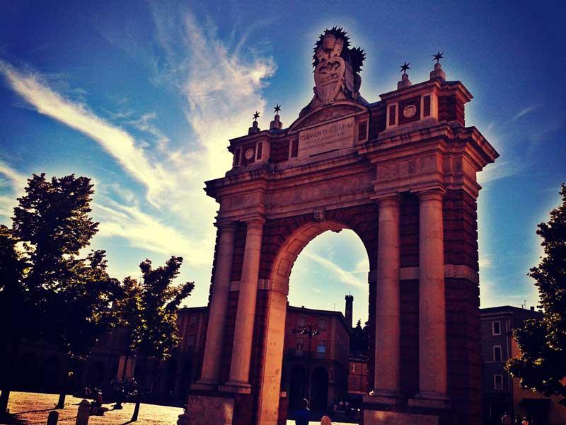 Arco Clemente XIV Santarcangelo di Romagna