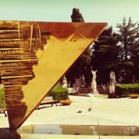 Rimini monument by Arnaldo Pomodoro