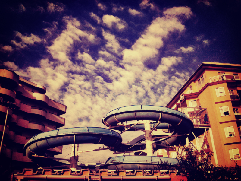 WaterSlides in BellaRiva
