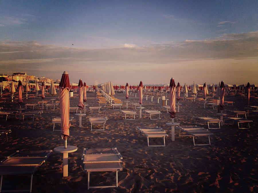 Rimini in September - one season starts drawing to a close
