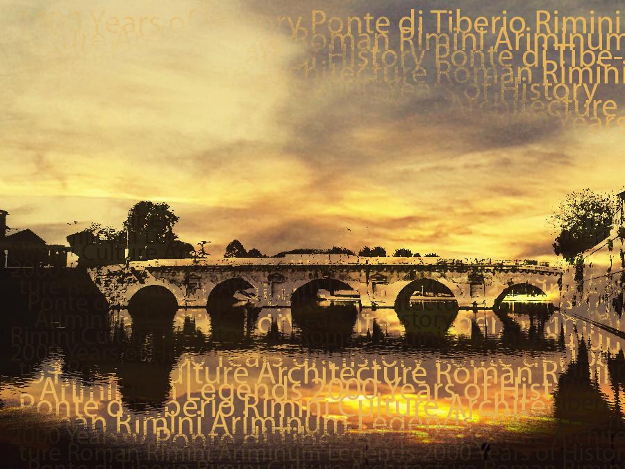 The 2000 Year Old Ponte di Tiberio