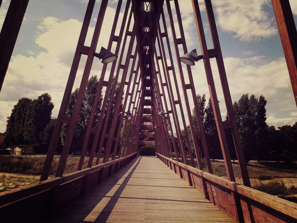 Bridge over the Marecchia River - Rimini