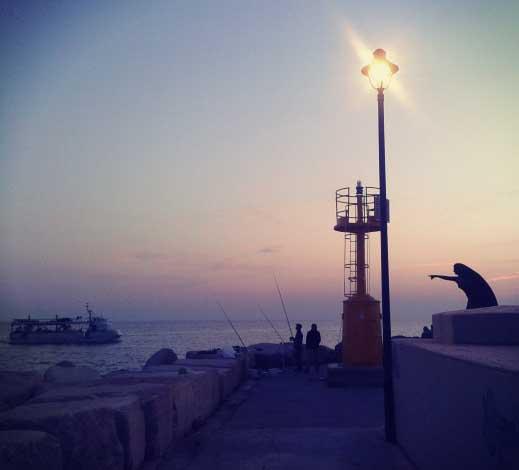 Rimini at the dawn