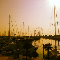 Rimini Marina in the morning