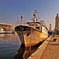 A Rimini Fishing Boat