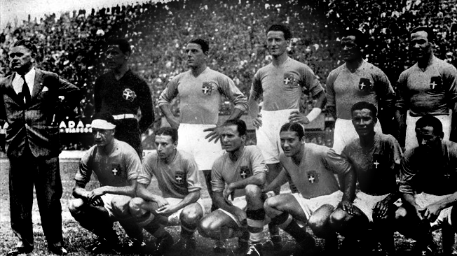 The 1934 Italian World Cup Team
