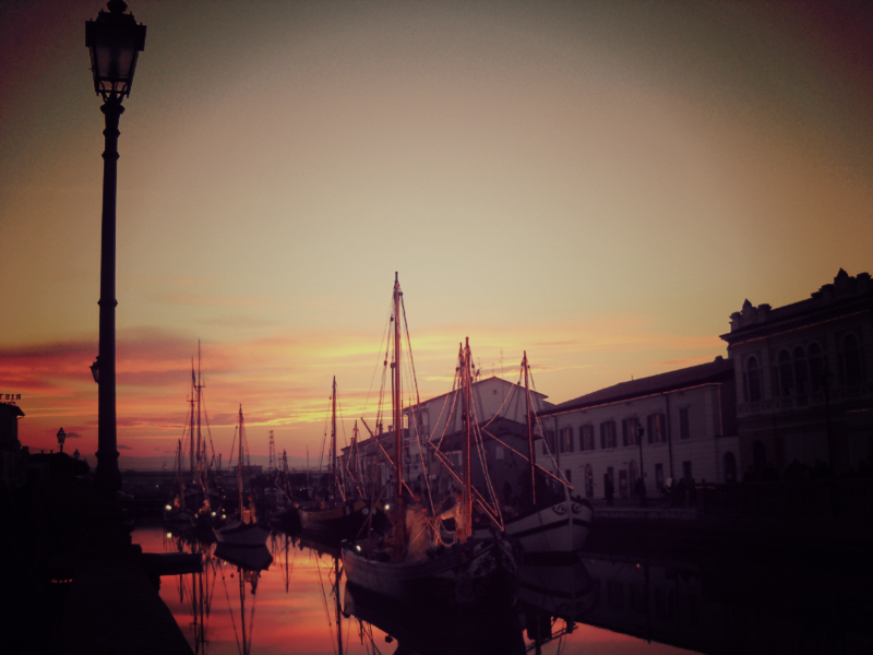 The floating crib in Cesenatico