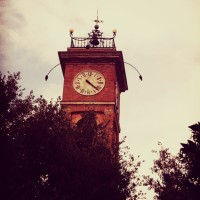 Montescudo clock tower - from the 14th century