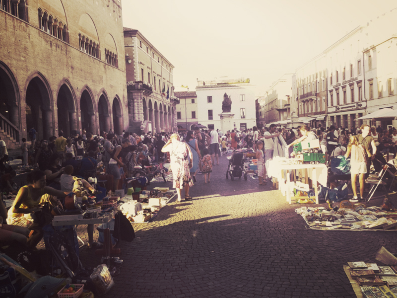 The Rimini Kids' flea market