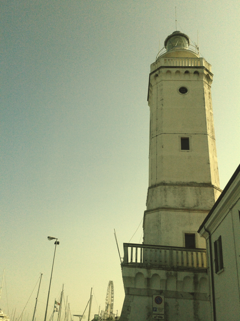 The Rimini Lighthouse