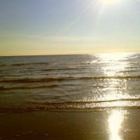 Rimini Sunrise on the Beach