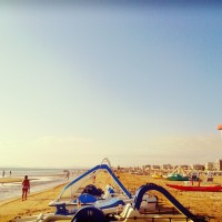 Sunshine on Rimini Beach