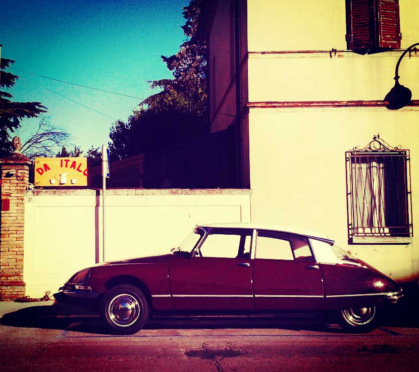 A citroen squalo, spotted on the streets of Santarcangelo di Romagna