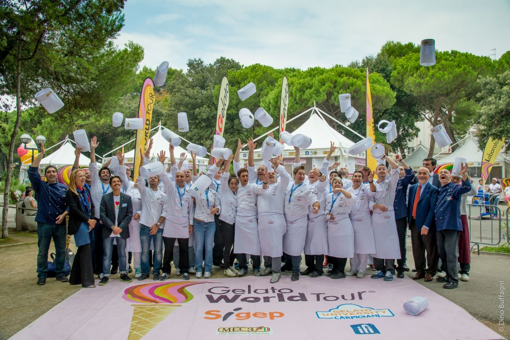 Gelato World Tour - Rimini  September 2014