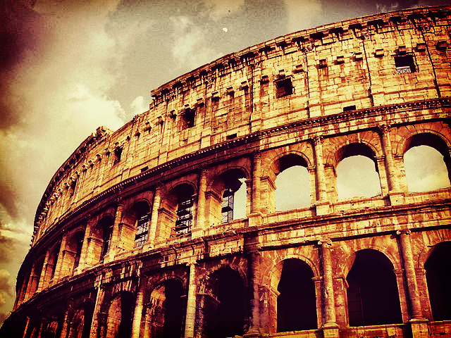 Rebuilding the Colosseum in Rome